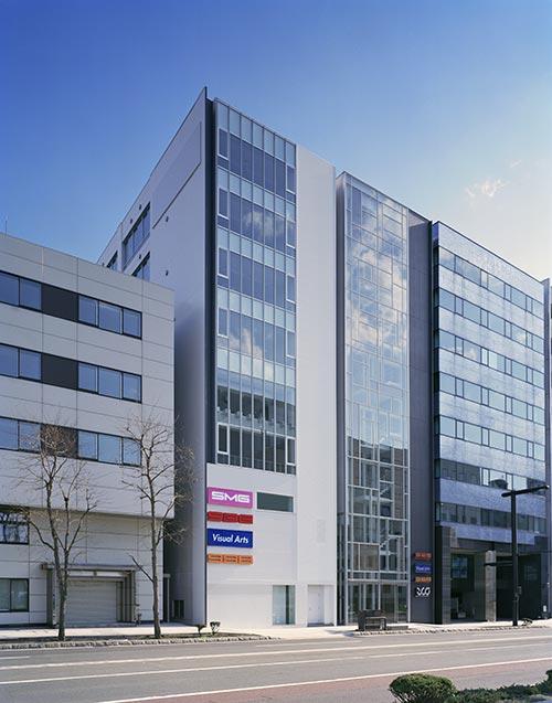 札幌マンガ・アニメ学院 校舎