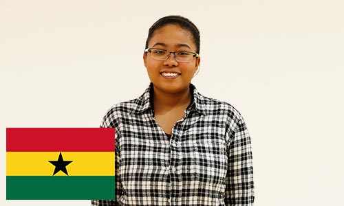 留学生・ガーナ共和国