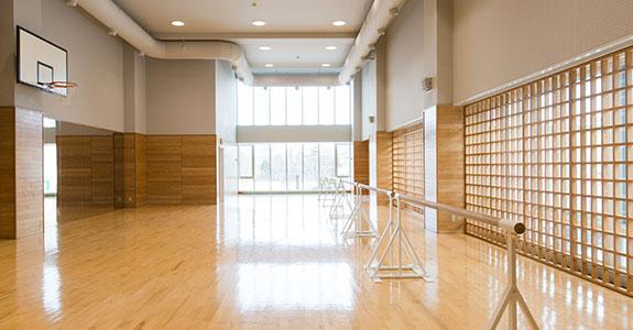 ダンス 演技スペース 体育館