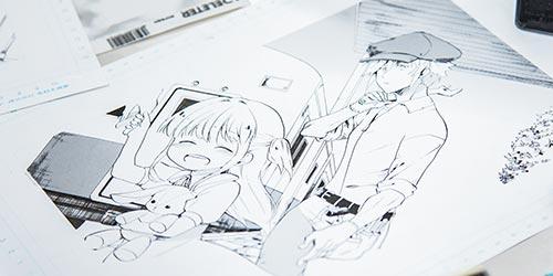 マンガ・コミックイラスト オープンキャンパス
